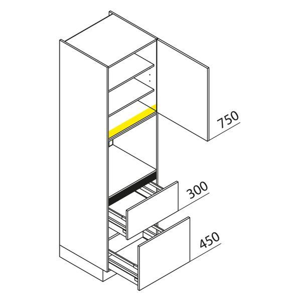 Nolte Küchen Hochschrank Geräteschrank GBZ210-3