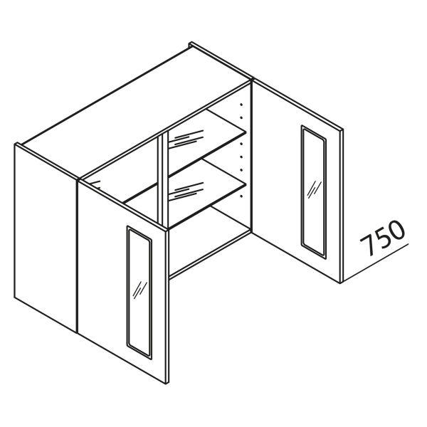 Nolte Küchen Hängeschrank mit Glas HVAG80-75