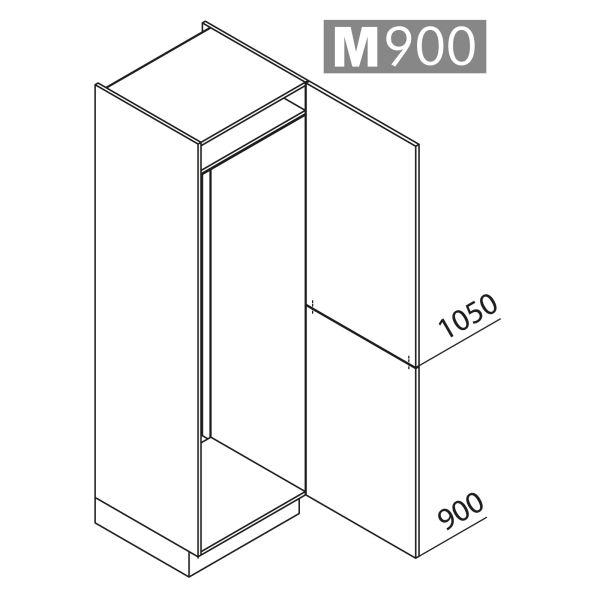 Nolte Küchen Hochschrank Geräteschrank GK195-179-01