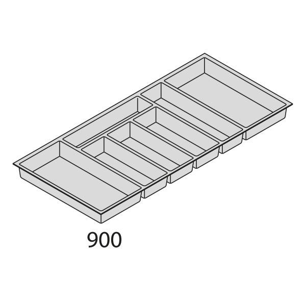 Nolte Küchen Besteckeinsatz Kunststoff BEI90-50