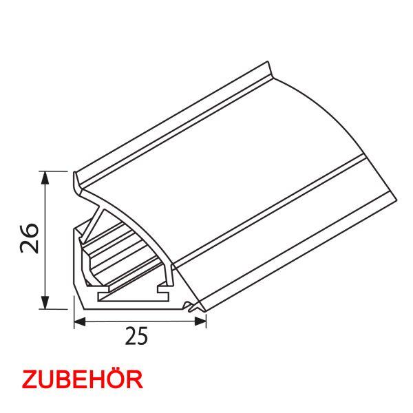 Nischenverkleidung Kombiprofil Zubehörbeutel NVD-K-PROF-Z