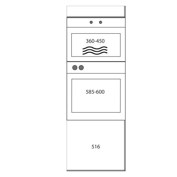 kitchenz k1 Geräteschrank GO13-ME