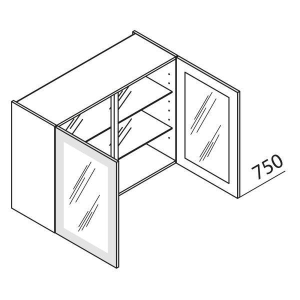 Nolte Küchen Hängeschrank mit Glastüren HVDF120-75