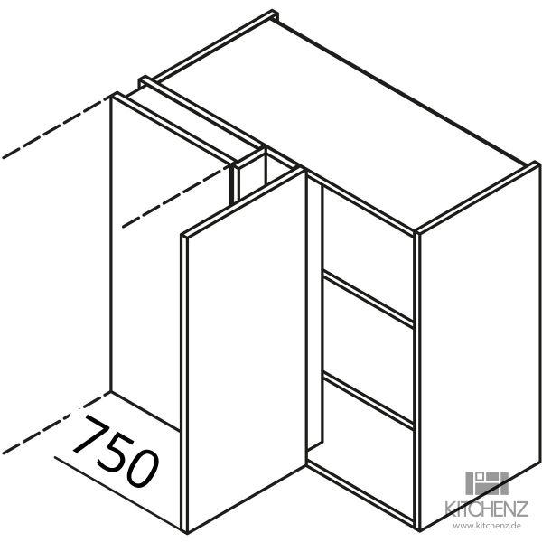 Nolte Küchen Eck-Hängeschrank HES90-75-L