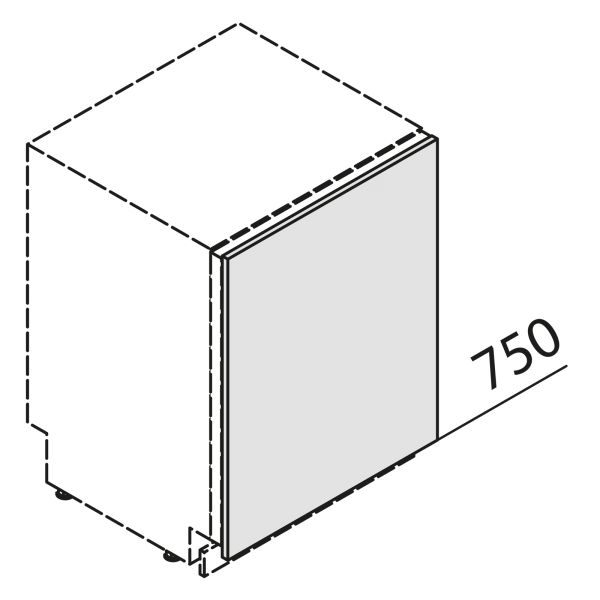 Nolte Küchen Front Gerät KSBD60