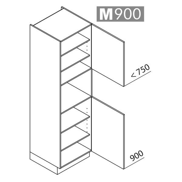 Nolte Küchen Hochschrank Geräteschrank GB210-4