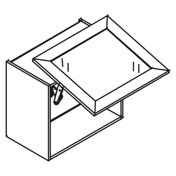 kitchenz k1 Glas Hängeschrank HGN4-045SL-SB