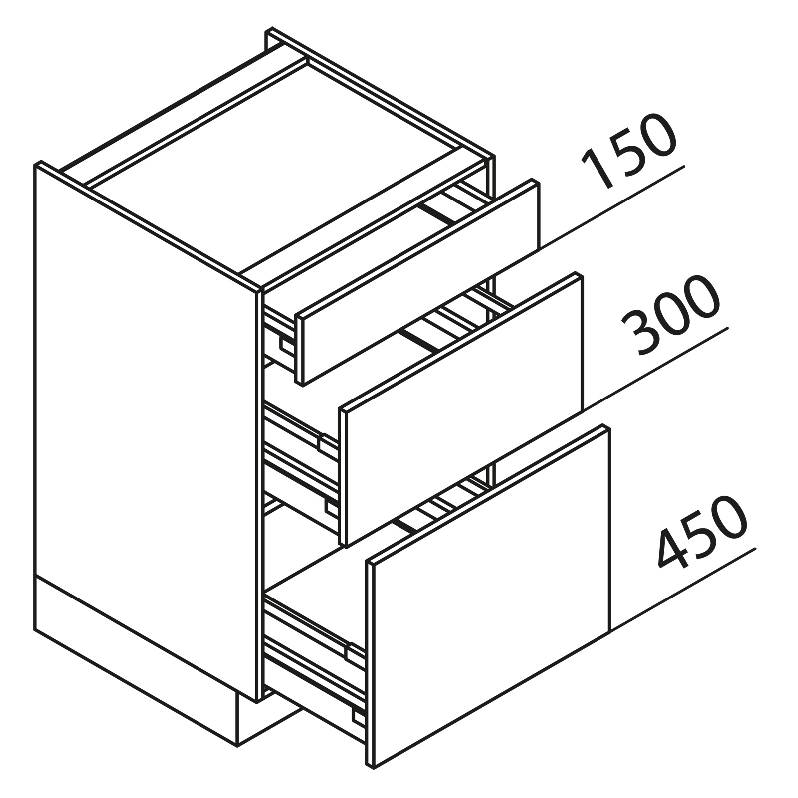 nolte k chen unterschrank kochstellenschrank kuak60 90 60 b. Black Bedroom Furniture Sets. Home Design Ideas