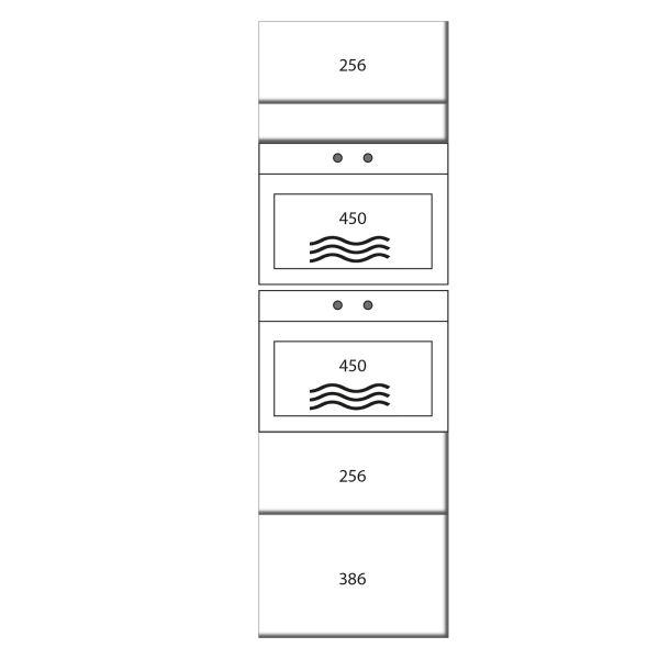 kitchenz k1 Geräteschrank DGO15-MMZ2