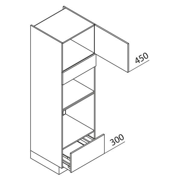 Nolte Küchen Hochschrank Geräteschrank GBBA195-3-2