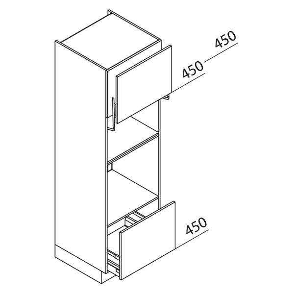 Nolte Küchen Hochschrank Geräteschrank GBLA195-3-01