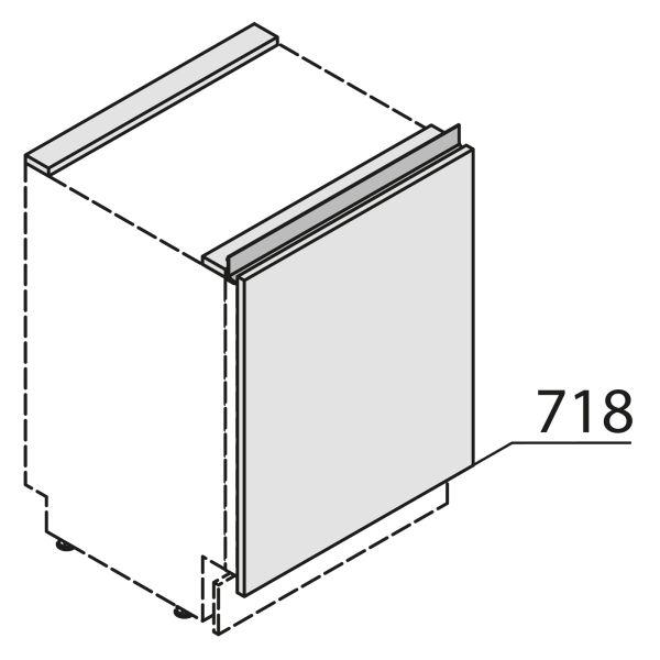 Nolte Küchen MatrixArt Gerätefront für Unterbaugerät YKSBD45-01