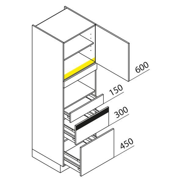 Nolte Küchen Hochschrank Geräteschrank GBZ195-1