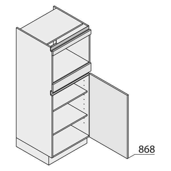 Nolte Küchen MatrixArt Geräte-Hochschrank für Backofen YGB150-1-U9
