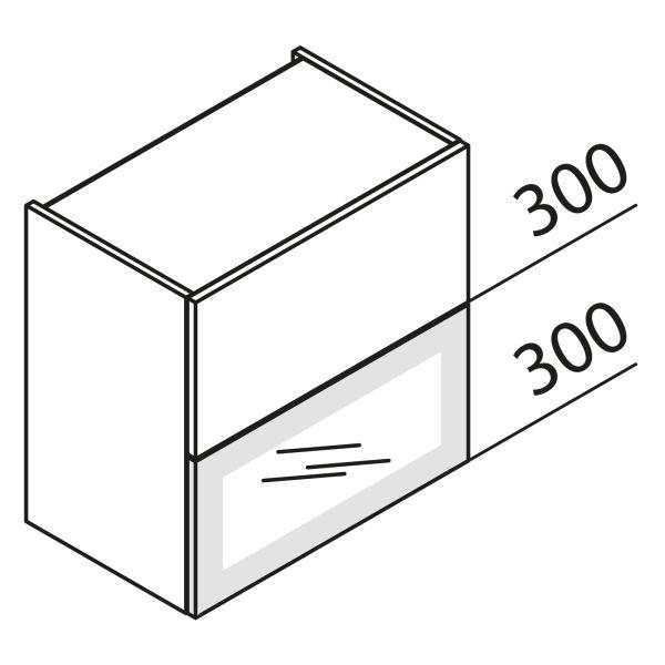 Faltklappenschrank mit Glas DS HFKDSPU45-60