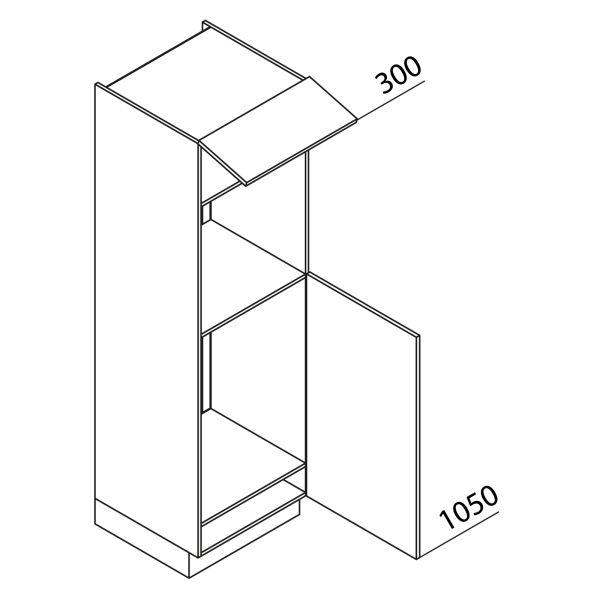 Nolte Küchen Hochschrank Geräteschrank GKB195-88-3