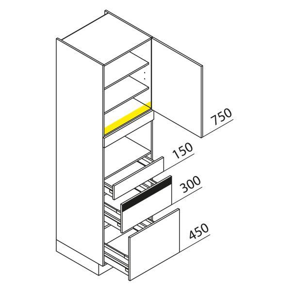 Nolte Küchen Hochschrank Geräteschrank GBZ210-1
