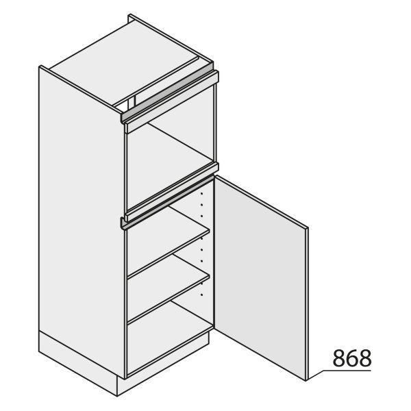 Nolte Küchen MatrixArt Geräte-Hochschrank für Backofen YGB150-4-U9