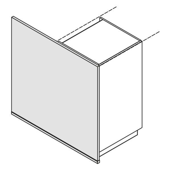 Nolte Küchen Hochschrank Wange Bodentief W16-S105-120