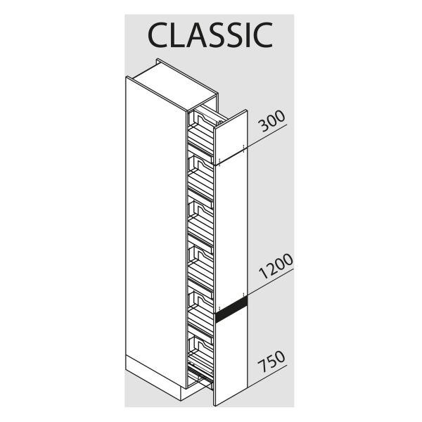 Nolte Küchen Hochschrank VVA30-225