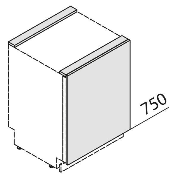 Türfront für Geschirrspüler KSBD60-01