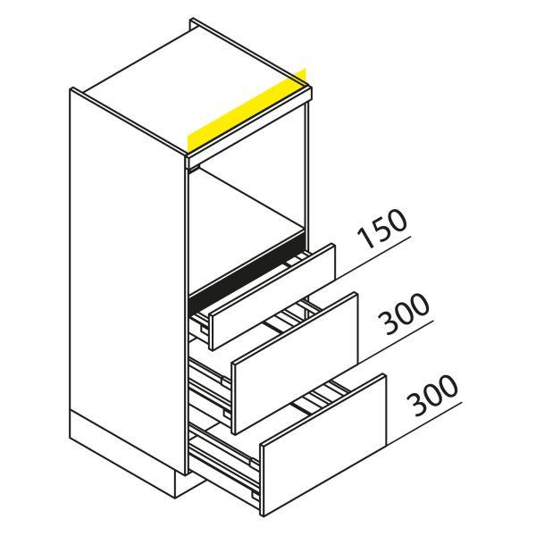 Nolte Küchen Hochschrank Geräteschrank GBAK135-2
