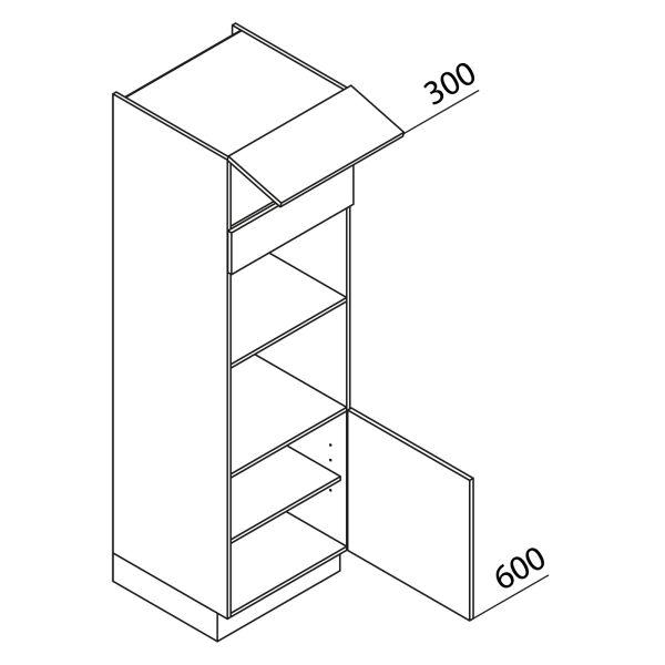 Nolte Küchen Hochschrank Geräteschrank GBB195-2-2