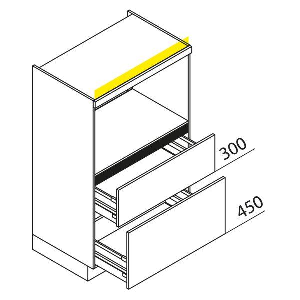 Nolte Küchen Hochschrank Geräteschrank GBZ90-135-2