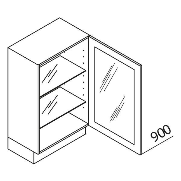 Nolte Küchen Unterschrank mit Glastür UDDDF80-90-39