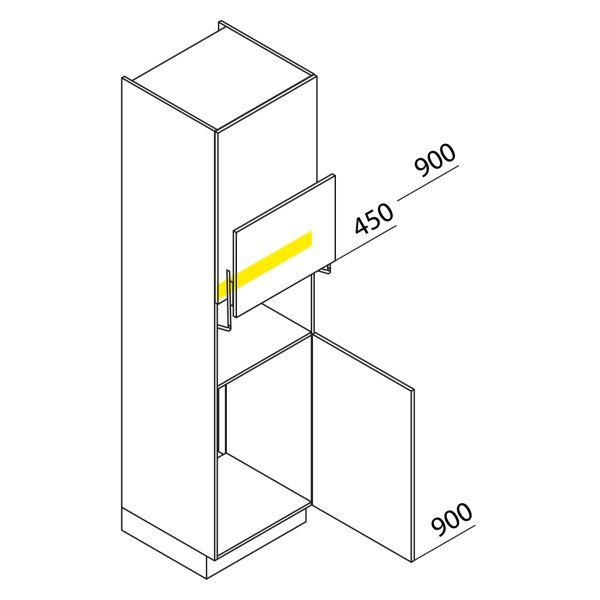 Nolte Küchen Hochschrank Geräteschrank GKL225-88