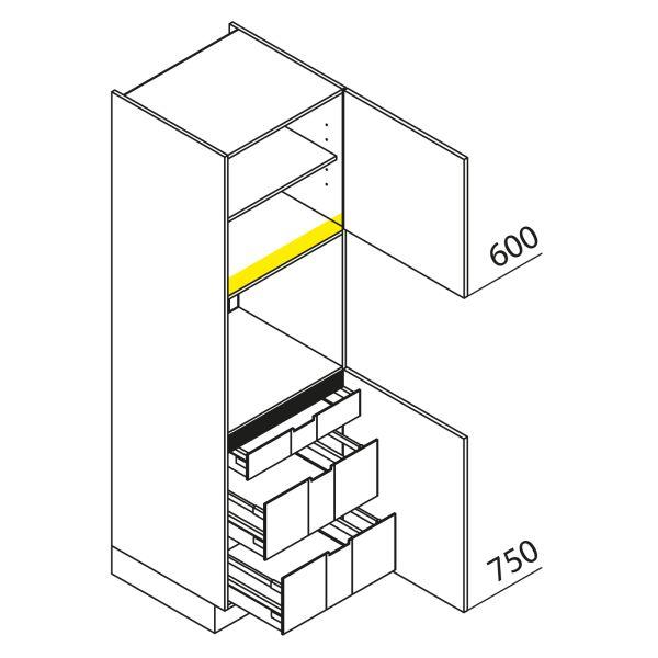Nolte Küchen Hochschrank Geräteschrank GBI195-3