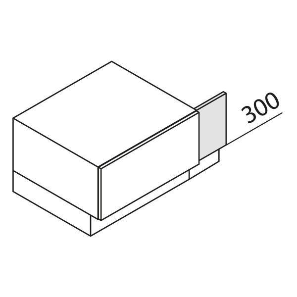 Nolte Küchen Unterschrank-Passleiste UPL2-30