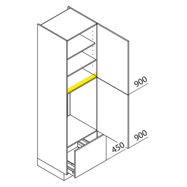 Nolte Küchen Hochschrank Geräteschrank GKA225-88