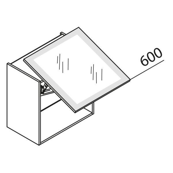 Schwebeklappenschrank mit Glas HLDF60-60