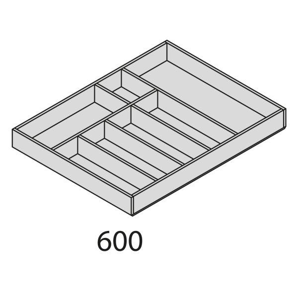 Nolte Küchen Besteckeinsatz Eiche BEI2H60-50