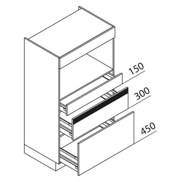 Nolte Küchen Hochschrank Geräteschrank GBZ90-150-2