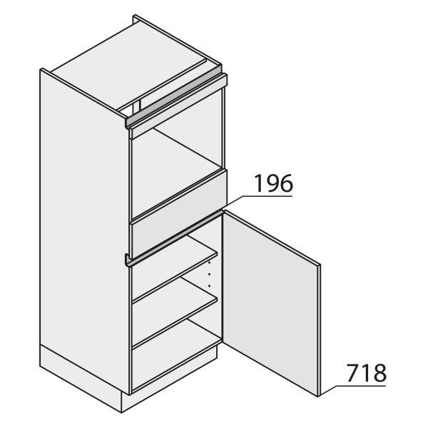 Nolte Küchen MatrixArt Geräte-Hochschrank für Backofen YGB150-4