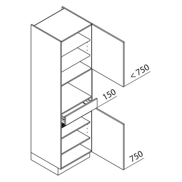 Nolte Küchen Hochschrank Geräteschrank GBS210-4