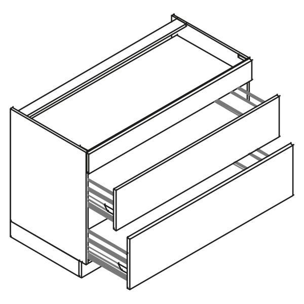 kitchenz k1 Geräteschrank DUK6-100BZ2