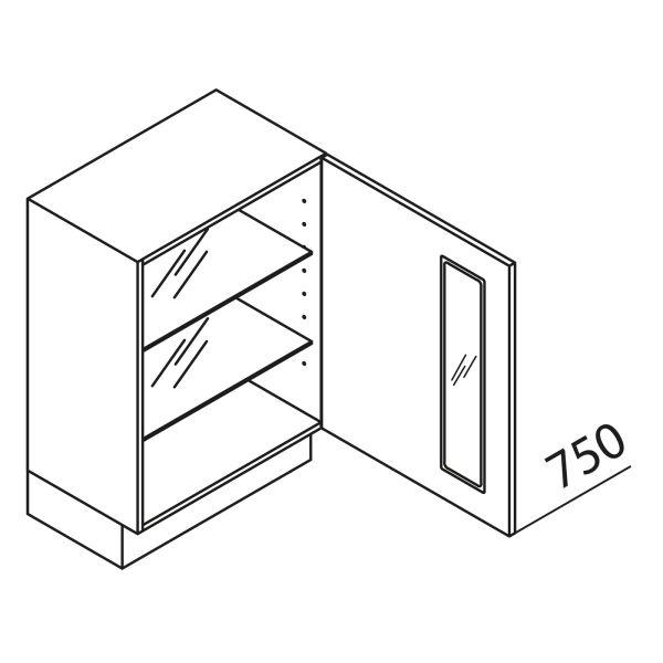 Nolte Küchen Unterschrank mit Glas UDDAG50-75-39