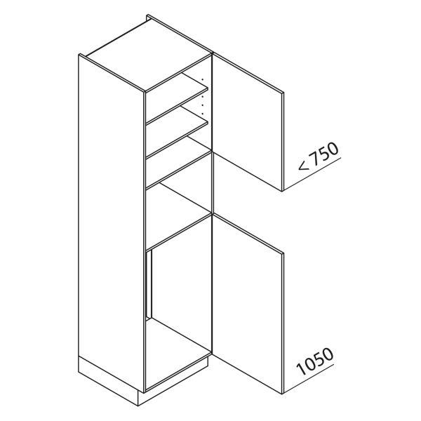 Nolte Küchen Hochschrank Geräteschrank GKB225-103-4