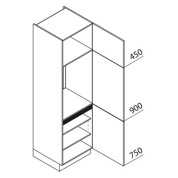 Nolte Küchen Hochschrank Geräteschrank GK210-88