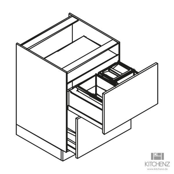 kitchenz k1 Unterschrank U6-050Z2AB3