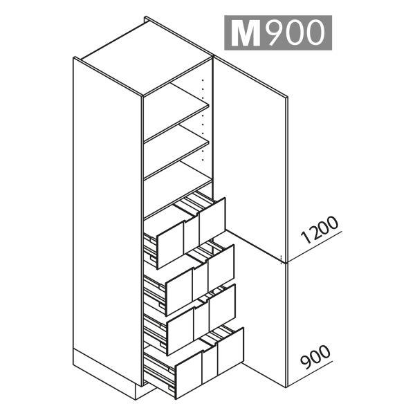 Nolte Küchen Hochschrank VI45-210-U9