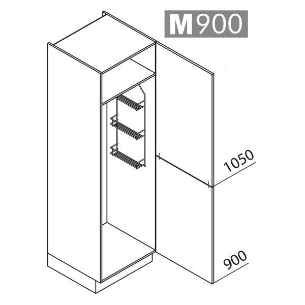 Nolte Küchen Hochschrank Besenschrank VB60-195-U9