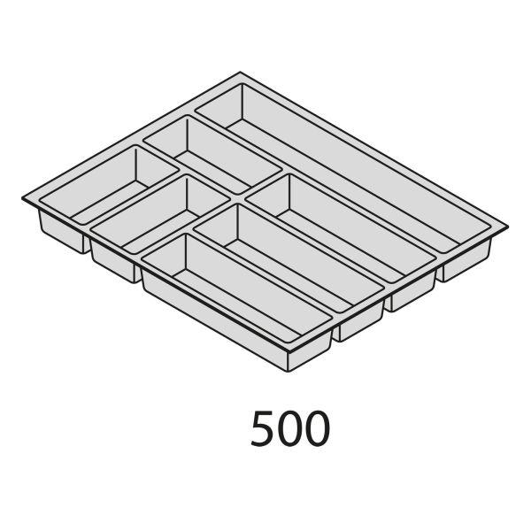 Besteckorganisation Kunststoff BEI50
