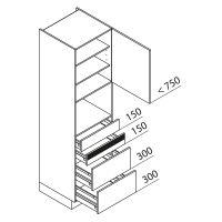 Hochschrank Geräteschrank Nolte Küchen GBAK210-4