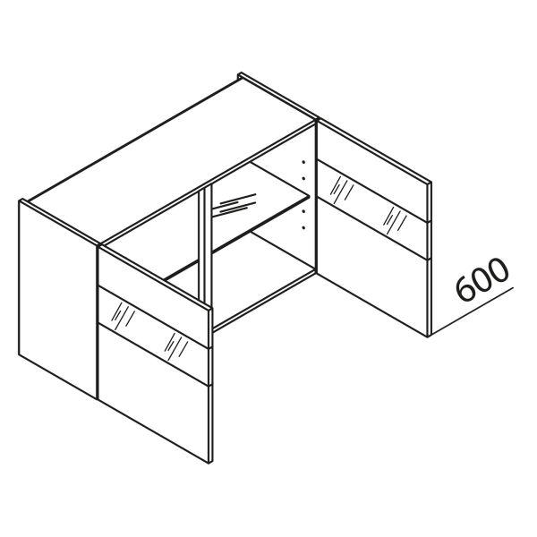 Nolte Küchen Hängeschrank mit Glas HVQ100-60