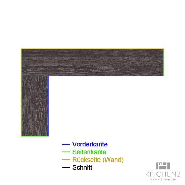 kitchenz k1 L-Arbeitsplatte AP-L2