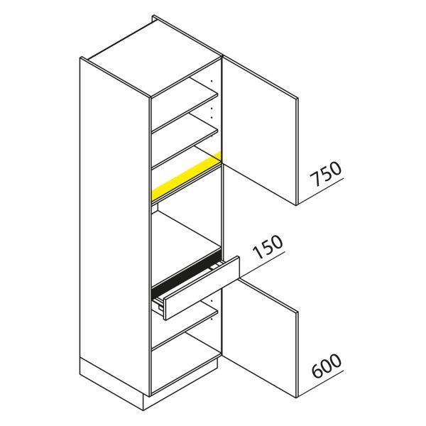 Nolte Küchen Hochschrank Geräteschrank GBS210-3
